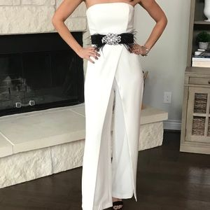 Split Leg Jumpsuit New With Tags
